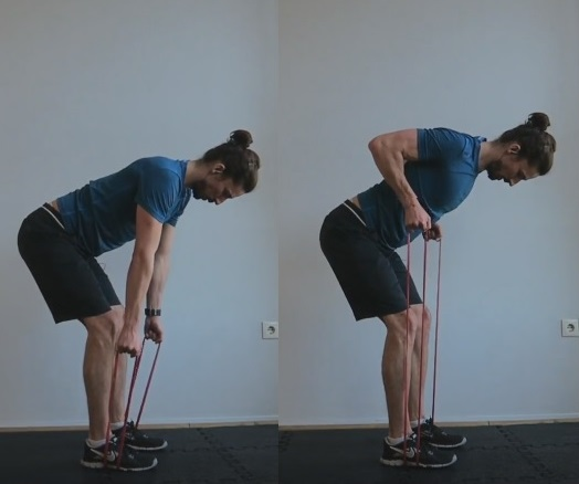 Bent over row